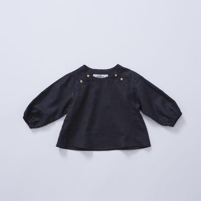 【cokitica 2017AW】cka-172F38  baby blouse  / black  / 80-100cm