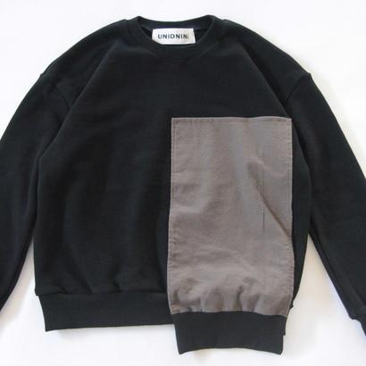 【 UNIONINI 2017AW】PO-017 □ pullover / Black / size3,4
