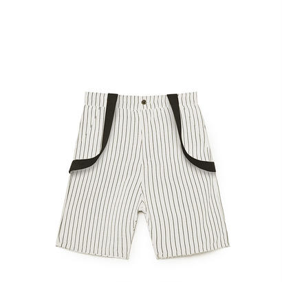 【 Little Creative Factory 18SS 】 Tap Shorts / WHITE