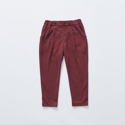【cokitica 2017AW】cka-172J26ponte knit pants / burgundy / 110-130cm