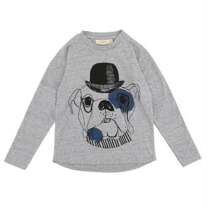 【Soft Gallery 2017AW】Viggo T-shirt / 011. Grey Melange - Barber