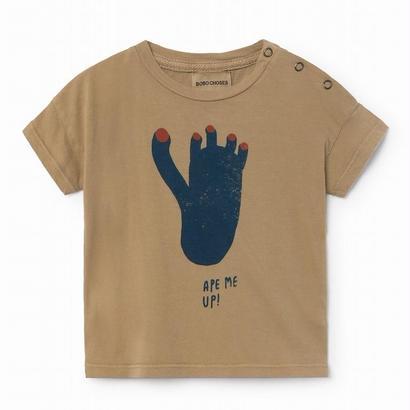 【 Bobo Choses 2018SS 】118147 Footprint short sleeve t-shirt