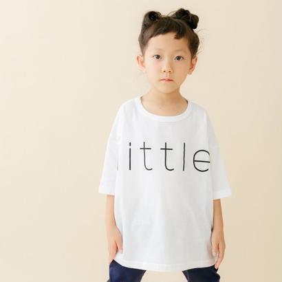 【 nunu forme 18SS 】 リトル Tシャツ(〜145cm)/ White