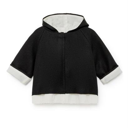 【予約商品】【Little Creative Factory 2017AW】003 Baby Claudio's Woolen Jacket / Black