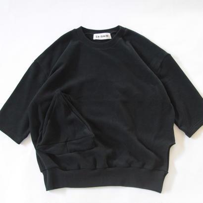 【 UNIONINI 2017AW】 PO-016 ◯△ pullover / Black / size L1 ,L2