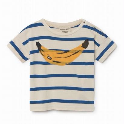 【 Bobo Choses 2018SS 】118152 Banana Short Sleeve T-Shirt