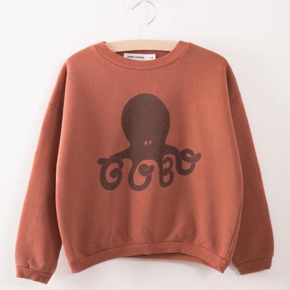 【 bobo Choses 2017AW】217032 Sweatshirt  Octopus