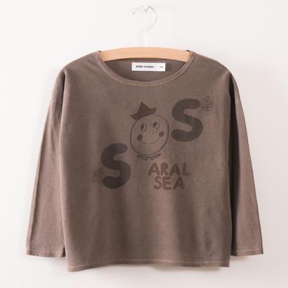 【 bobo Choses 2017AW】217010 T-Shirt  S.O.S