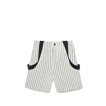【 Little Creative Factory 18SS 】Tap Baby Shorts / WHITE