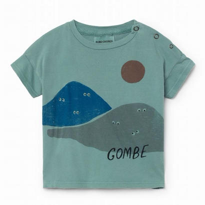 【 Bobo Choses 2018SS 】118149 Mountains short sleeve t-shirt