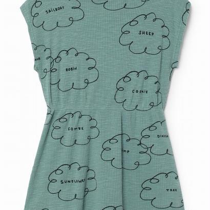 【 Bobo Choses 2018SS 】118209 Clouds Shaped Dress