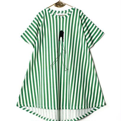 【 WOLF&RITA 2018SS 】VANIA - Dress / WALKING LADY