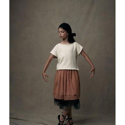 【 Little Creative Factory 18SS 】  Soft T-Shirt / IVORY