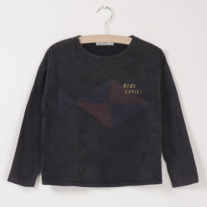 【 bobo Choses 2017AW】217001 T-Shirt  Fish