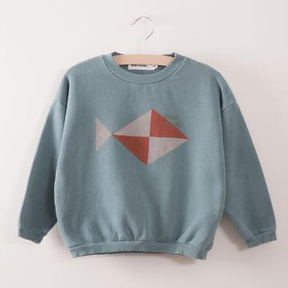 【 bobo Choses 2017AW】217034 Sweatshirt  Fish