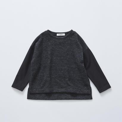 【cokitica 2017AW】cka-172J29melange tops / charcoal / 110-130cm