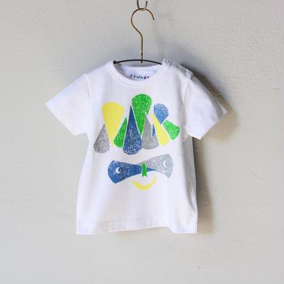 """【 ミナペルホネン 18SS 】 Tシャツ """"M.Crocus"""" / white  / 80-100cm  (WS8882P)"""