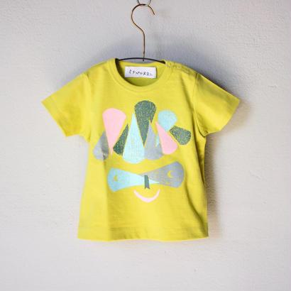 """【 ミナペルホネン 18SS 】 Tシャツ """"M.Crocus"""" / yellow  / 80-100cm  (WS8882P)"""