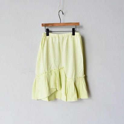 【先行予約】【 folk made 2018SS】No.16 tulle skirt / アイボリー