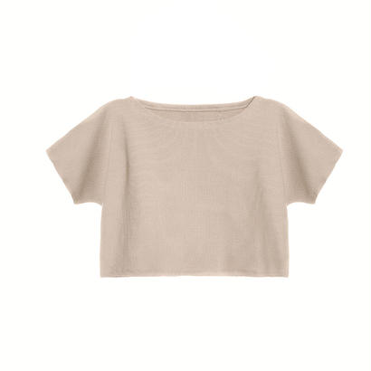 【 Little Creative Factory 18SS 】  Soft T-Shirt / MAUVE
