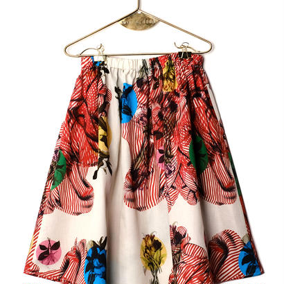 【 WOLF&RITA 2018SS 】LURDES - Skirt / HOT VULCANO  / 日本限定販売