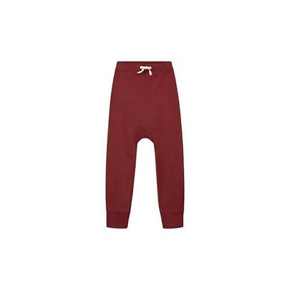 【 Gray Label 2017AW】 Baby Baggy Pant Seamless / Burgundy