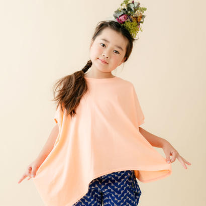 【 nunu forme 18SS 】 ライトロング変型 T(〜145cm)/ Pink Beige