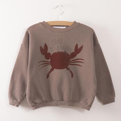 【 bobo Choses 2017AW】217029 Sweatshirt  Crab your hands