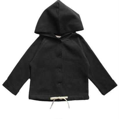 【 Gray Label 2017AW】 Baby Hooded Cardigan / Nearly Black / 80cm