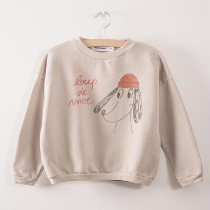 【 bobo Choses 2017AW】217031 Sweatshirt  Loup de mer
