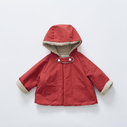 【cokitica 2017AW】cka-172F32forest coat / red / 90-100cm