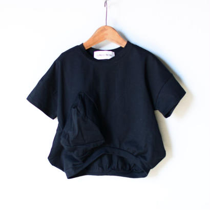 【 UNIONINI 2018SS 】 マルサンカク T-shirt / Black / ladies