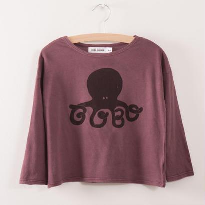 【 bobo Choses 2017AW】217008 T-Shirt  Octopus