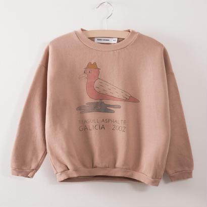 【 bobo Choses 2017AW】217033 Sweatshirt  Seagull asphalte