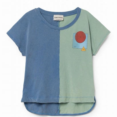 【 Bobo Choses 2018SS 】118021 Know bicolour sleeveless t-shirt