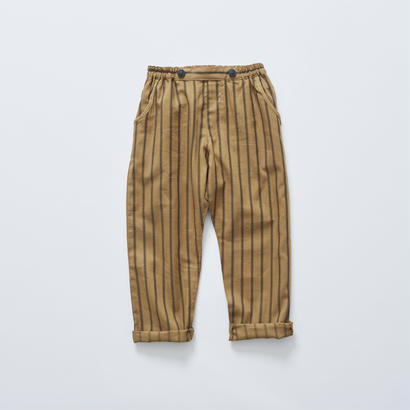 【cokitica 2017AW】cka-172F02 stripe pants / camel / 80-100cm