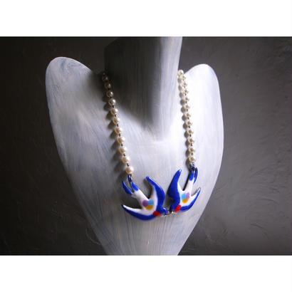 hirondelles-navy blue-
