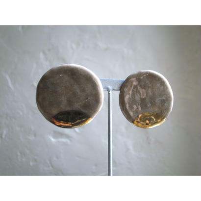 【Circle earrings brown】[PEKI!RARIGON]