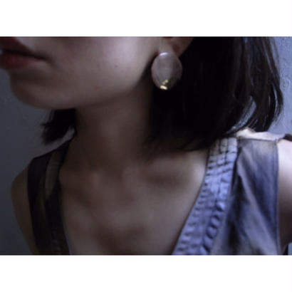 【Circle earrings brown】[PEKI!RARIGON]