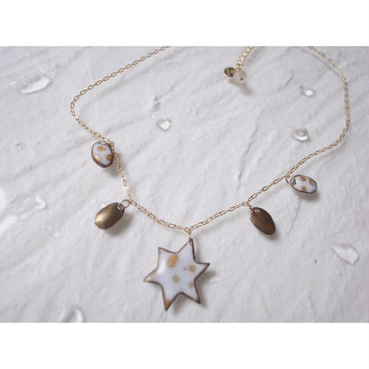 【milky star necklace】[PEKI!RARIGON]