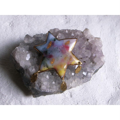 """FALL""【Star  Brooch】[PEKI!RARIGON]"