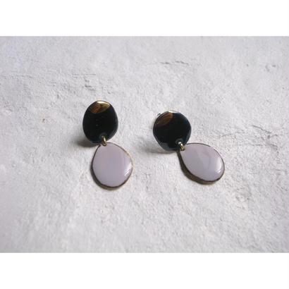 【2stones earrings】[PEKI!RARIGON]