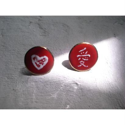【Circle earrings 愛】[PEKI!RARIGON]