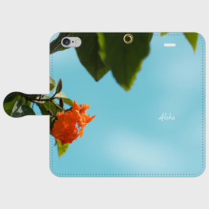 iPhone6/6s用 手帳ケース -pualoha-