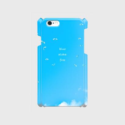 "iPhone6/6s, 7用 ""blue free aloha"""
