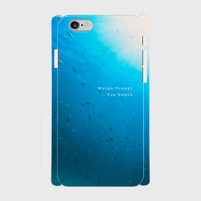 "iPhone5/5s/SE,6/6s用ケース ""Water Planet"""