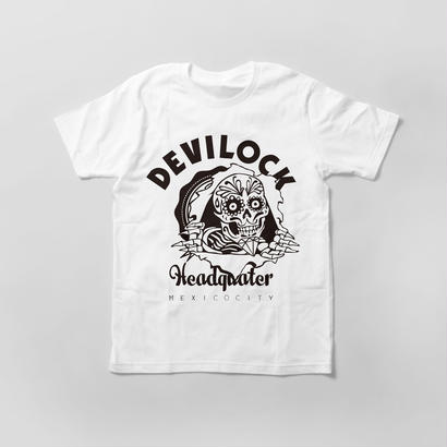 White Mexican Skull Tee