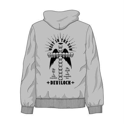 GRAY REST IN THE SUN HOODIE