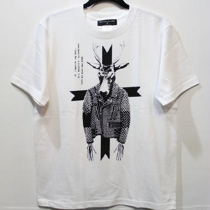 WHITE/CHOOSE by ENDO別注 RISK Tシャツ