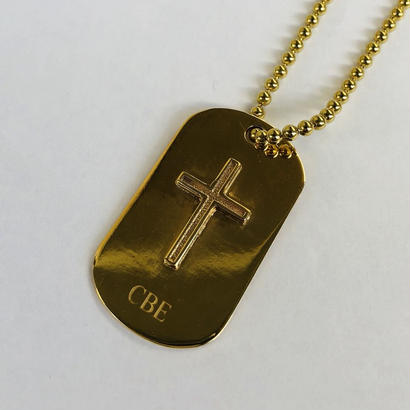 Cross Dog Tag Necklace~CBE LimitedEdition~